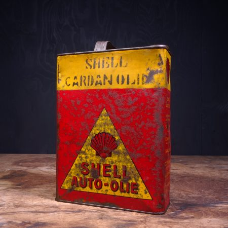 1930 Shell Auto Olie Cardan Oil Can