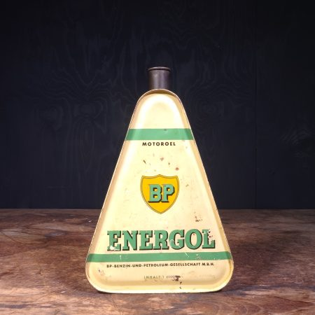 1930 BP Energol Motoroel Oil Can