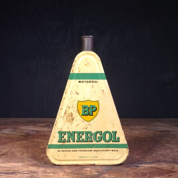 1930 BP Energol Motoroel Oil Can