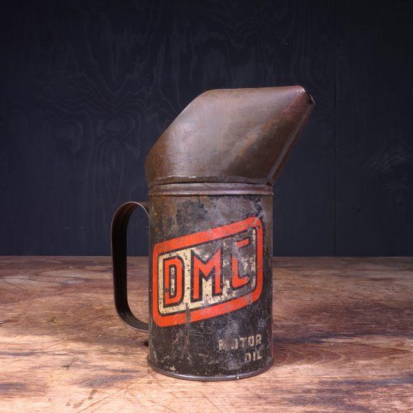 1930 DMC Motor Oil Jug