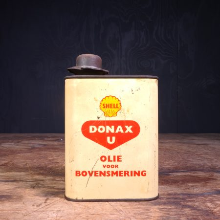 1950 Shell Donax U Motor Oil Can
