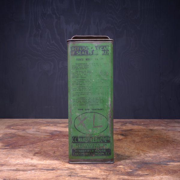 1930 Castrol Wakefield Motor Oil Can