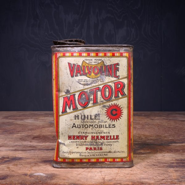 1920 Valvoline C Motor Oil Can