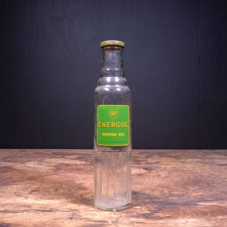 1940 BP Energol Motor Oil Bottle