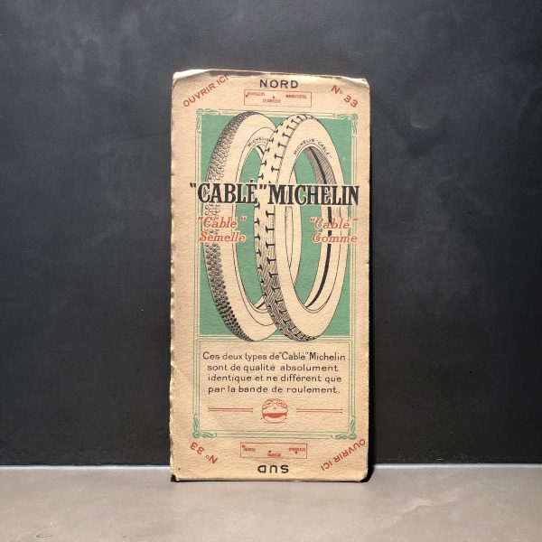 1920 Michelin road map #33