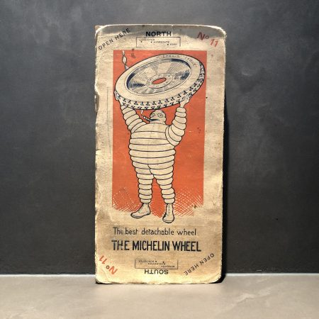 1920 Michelin road map #11