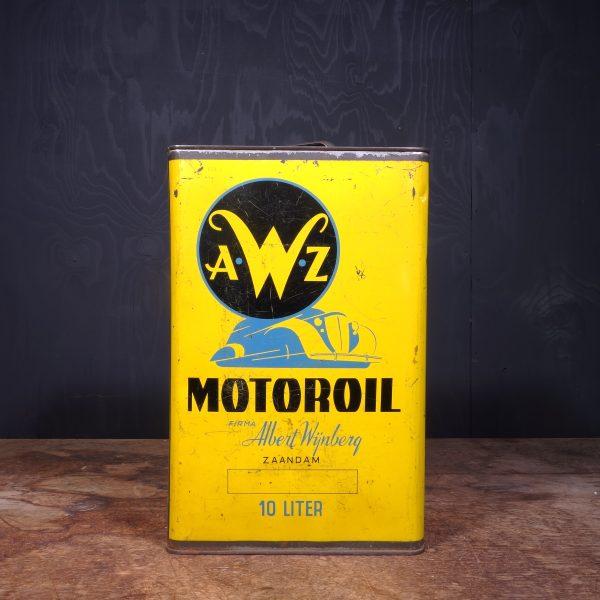 1930 AWZ Motor Oil Can