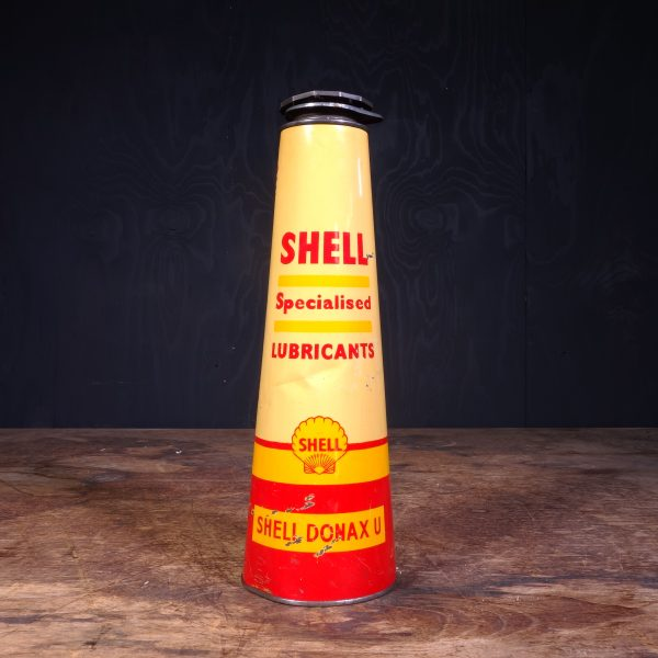1940 Shell Donax U Specialized Lubricants Oil Can