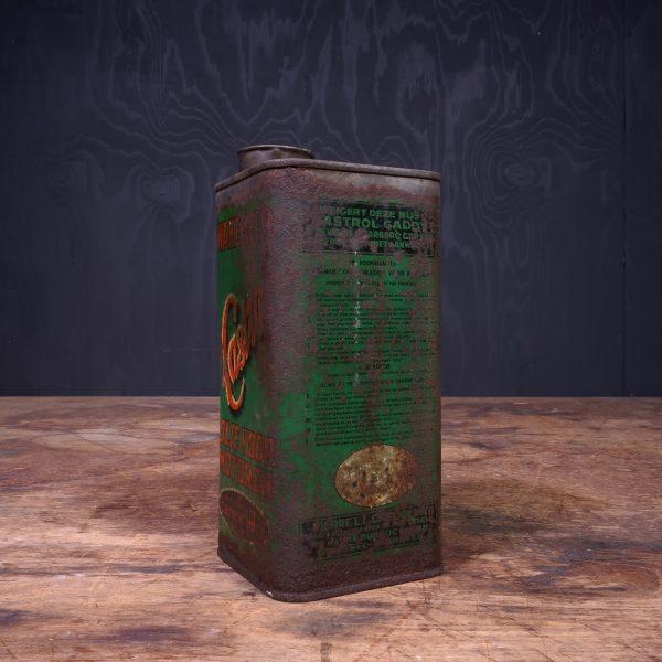 1930 Castrol Wakefield Huile Pour Moteurs Oil Can