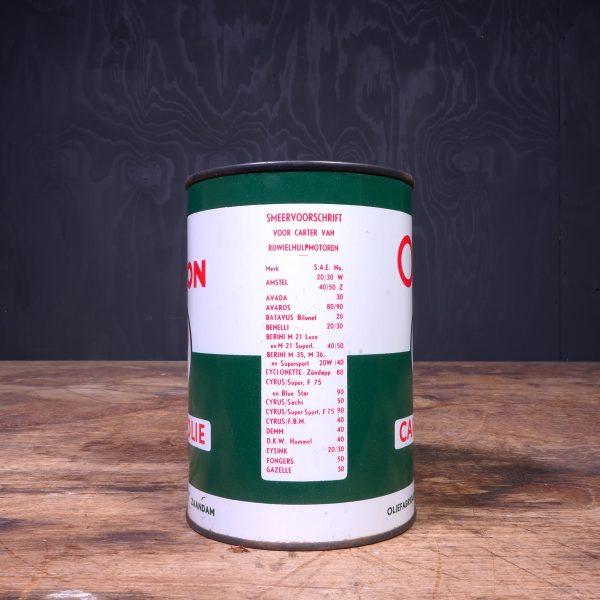 1950 Orion Carterolie Motor Oil Can