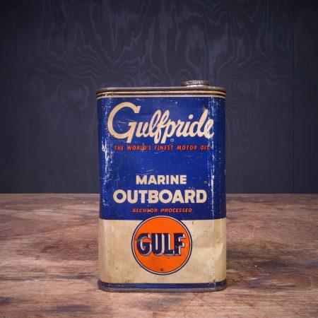 1950 Gulf Gulfpride Marine Outboard Oil Can