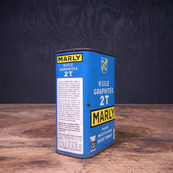 1950 Marly 2T Motor Oil Can