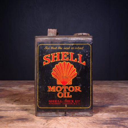 1920 Shell Motor Oil Can