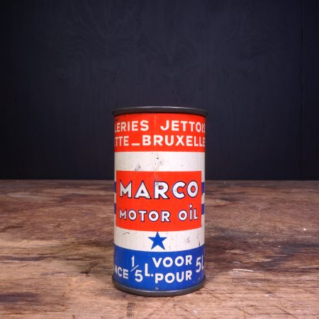 1950 Marco Motor Oil 2T Oil Can