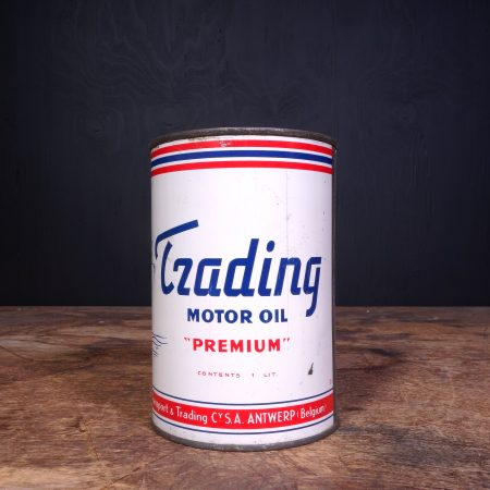 1950 Trading Motor Oil Can