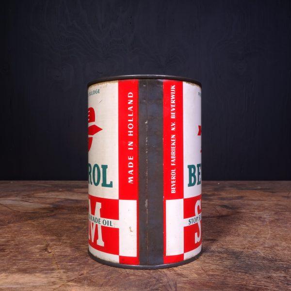1950 Beverol SSM Motor Oil Can
