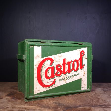 1950 Castrol Oil Can Crate