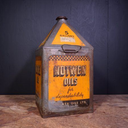 1930 Notwen Oils Motor Oil Can