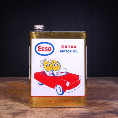 1960 Esso Extra Motor Oil Can