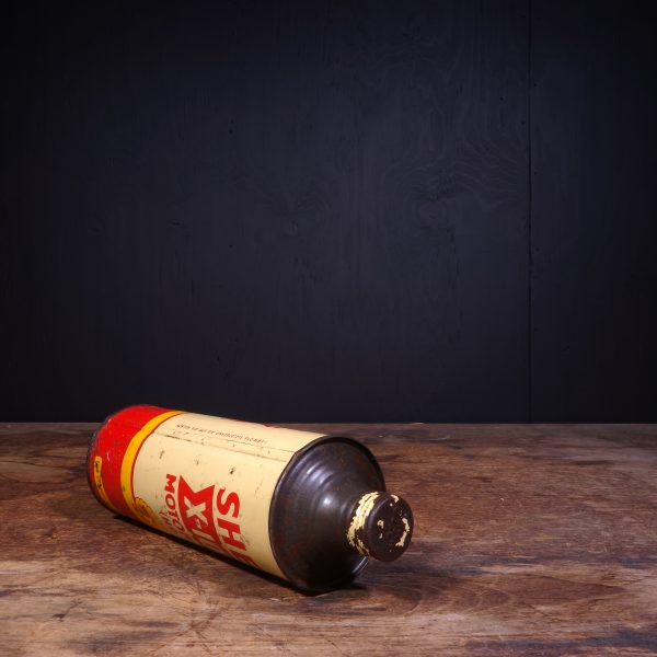 1950 Shell X-100 Motor Oil HD Can