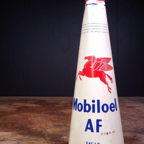 1950 Mobiloel AF Motor Oil Can
