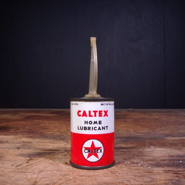 1950 Caltex Home Lubricant Oil Can