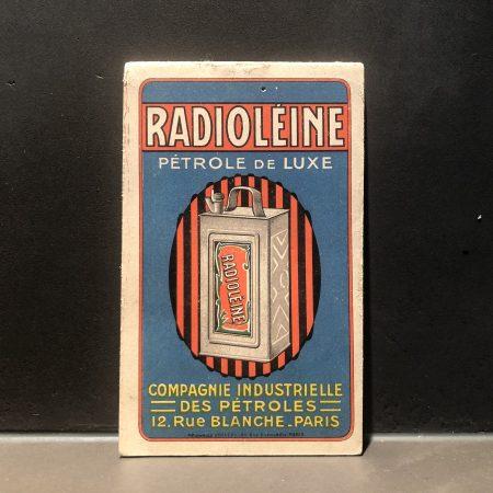 1930 Radioleine Motricine Notebook