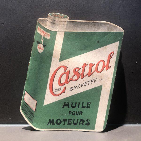 1930 Castrol Notebook