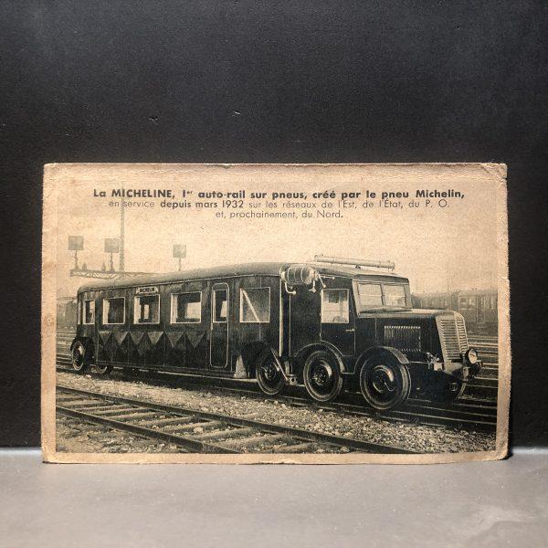 1932 Michelin Train Card
