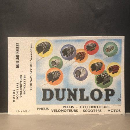 1950 Dunlop Blotter