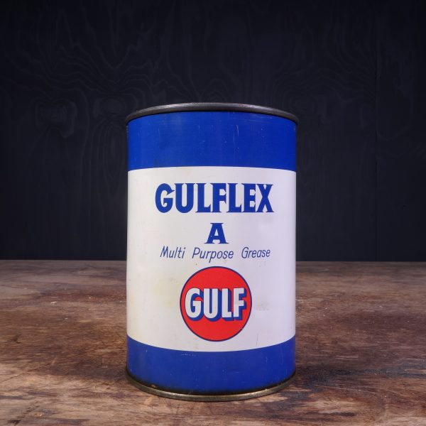 1950 Gulf Gulfex A Grease Can