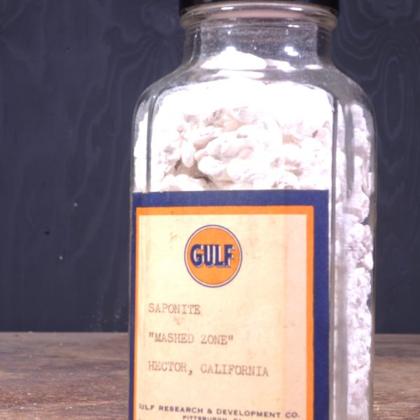 1940 Gulf Research Bottle
