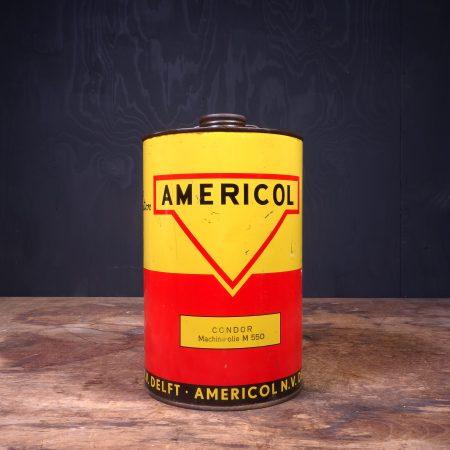 1950 Americol Oil Can