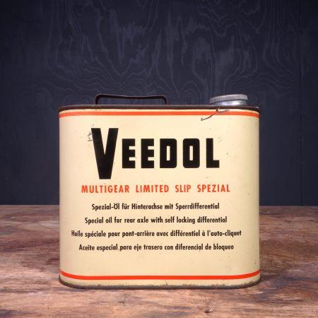 1950 Veedol Multigear Motor Oil Can