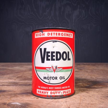 1950 Veedol Motor Oil Can
