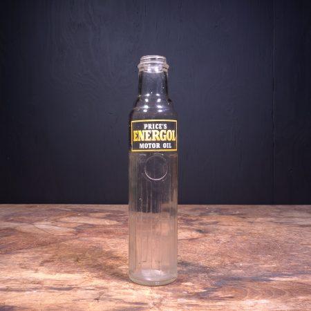 1940 Prices Energol Motor Oil Bottle