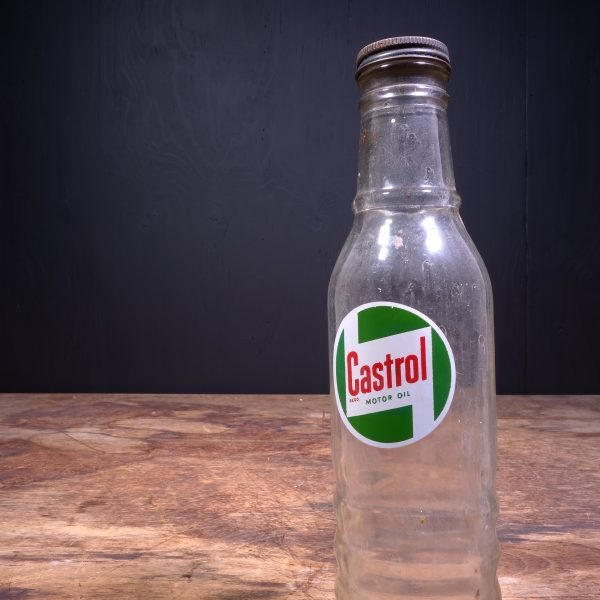1950 Castrol Motor Oil Bottle