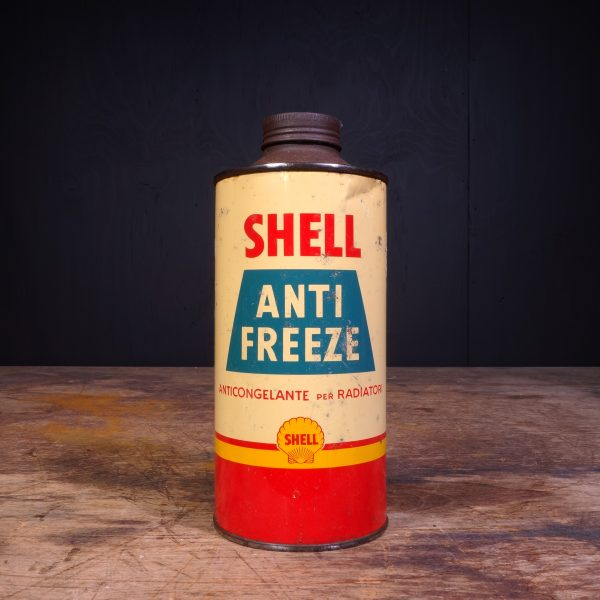 1950 Shell Anti Freeze Can