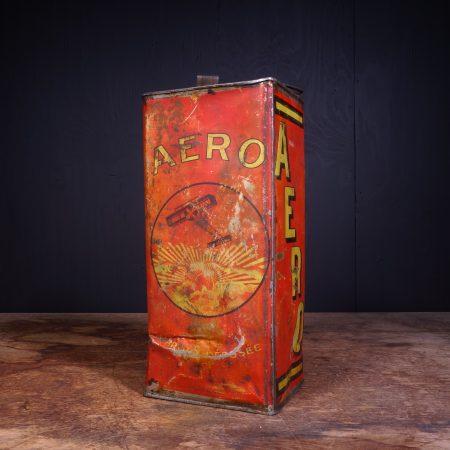 1930 Huile Aero Motor Oil Can