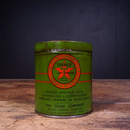 1930 Texaco Grease Can