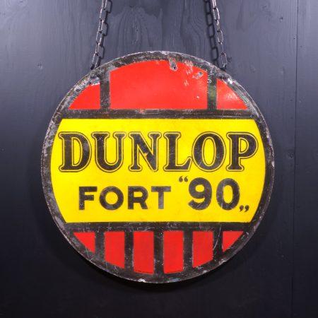 1930 Dunlop Fort 90 Sign