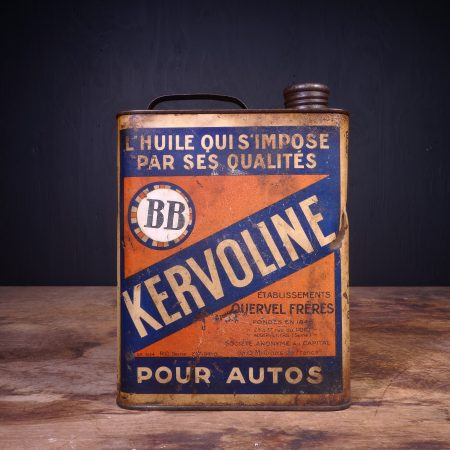 1940 Kervoline BB Motor Oil Can