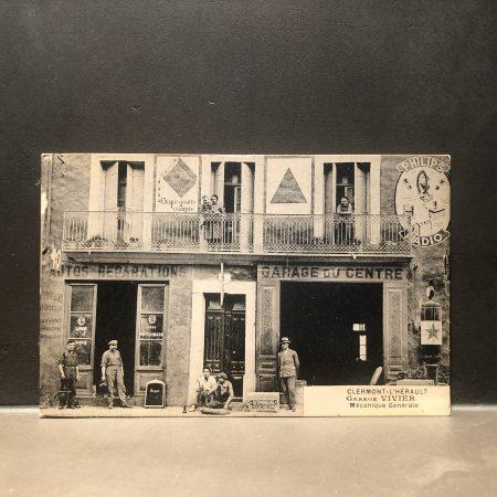 1920 Garage Vivier Postcard