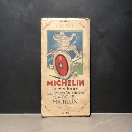1920 Michelin road map #19