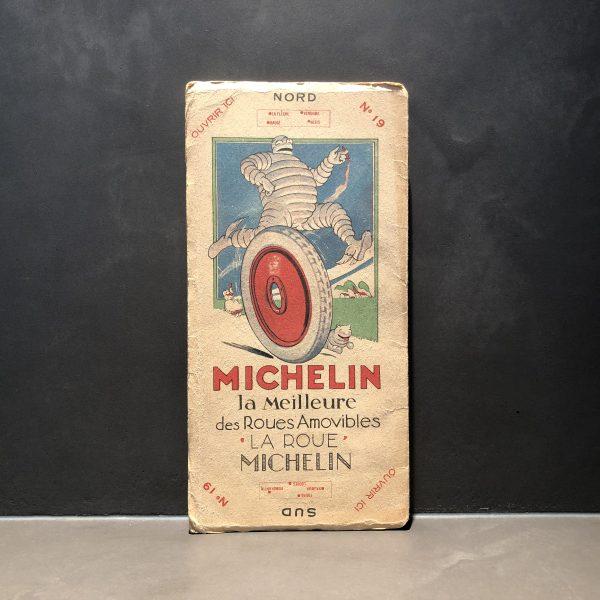 1920 Michelin road map #19