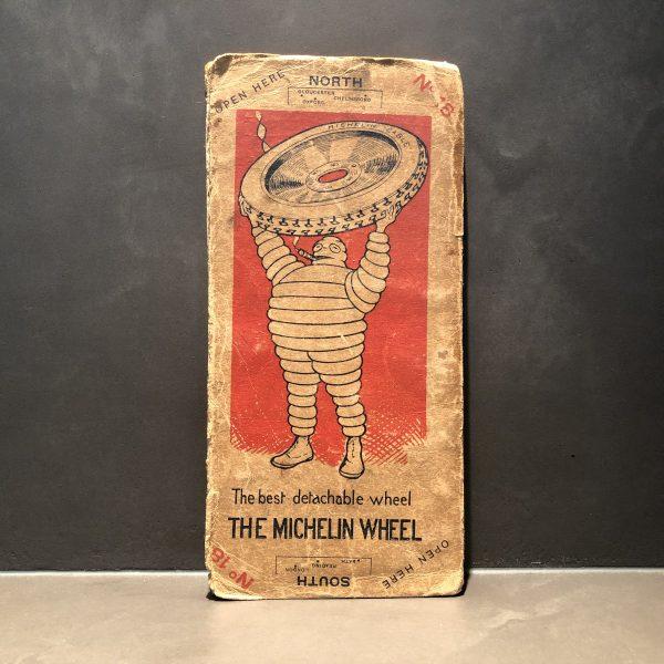 1920 Michelin road map #18