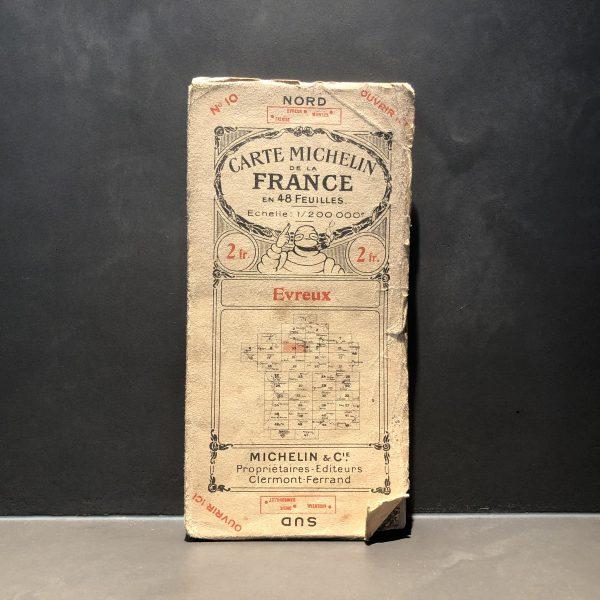 1920 Michelin road map #10