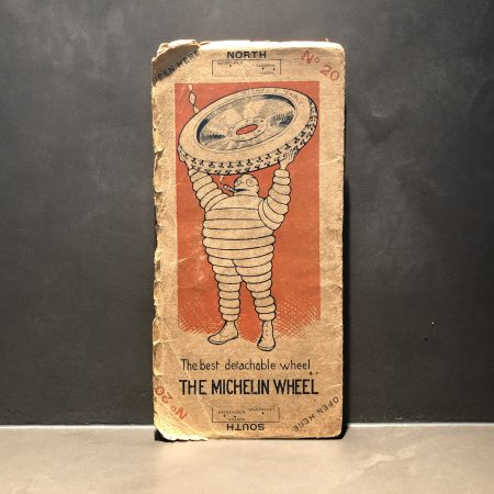 1920 Michelin road map #20
