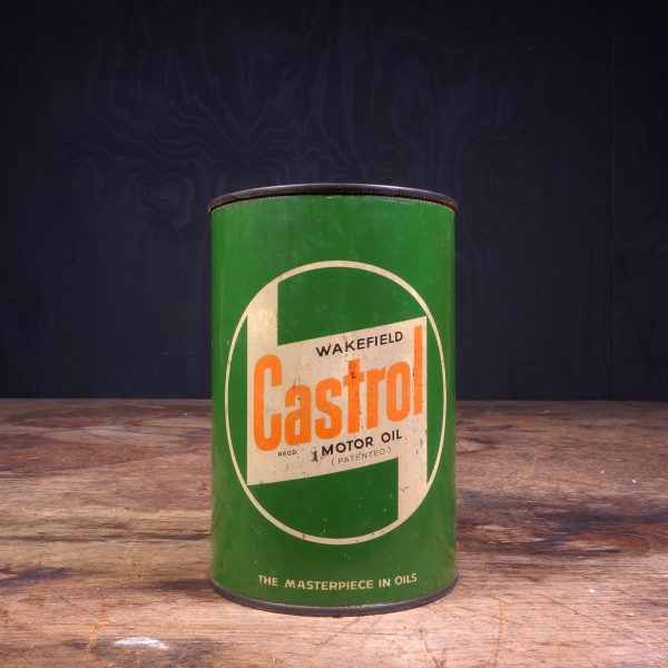 1950 Castrol Motor Oil Can