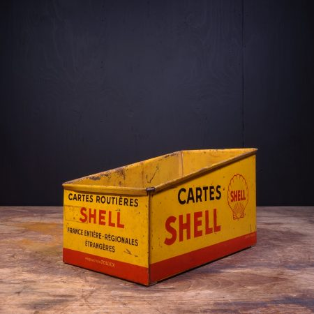 1950 Shell Cartes Road Map Box